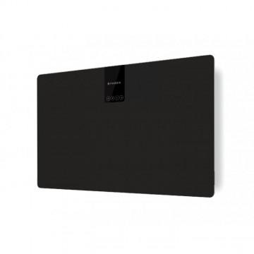 Vestavné spotřebiče - Faber SOFT SLIM NERO INGO A80  - komínový odsavač, černá / FENIX NTM černá mat, šířka 80cm