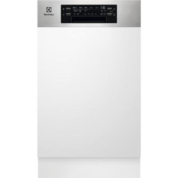 Vestavné spotřebiče - Electrolux EES42210IX vestavná myčka nádobí s panelem, 45 cm
