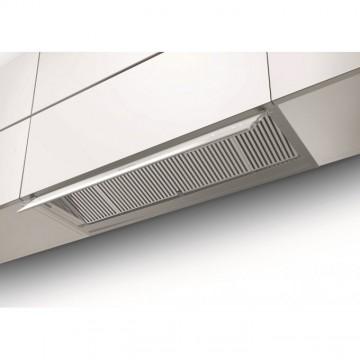 Vestavné spotřebiče - Faber IN-NOVA ZERO DRIP X/WH A120  - vestavný odsavač, nerez / bílé sklo, šířka 120cm