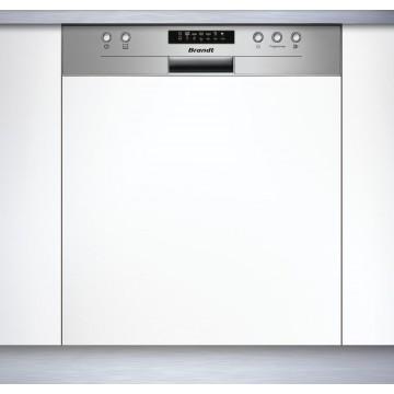 Vestavné spotřebiče - Brandt BDB424LX myčka vestavná s panelem