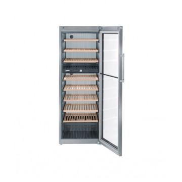 Volně stojící spotřebiče - Liebherr WTes 5972 temperovaná vinotéka, 2 nezávislé teplotní zóny, nerez