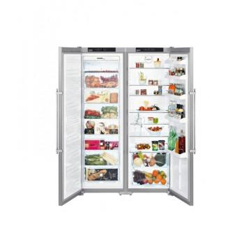 Volně stojící spotřebiče - Liebherr SBSesf 7212 Comfort americká lednice, NoFrost, nerez - 5 let záruka