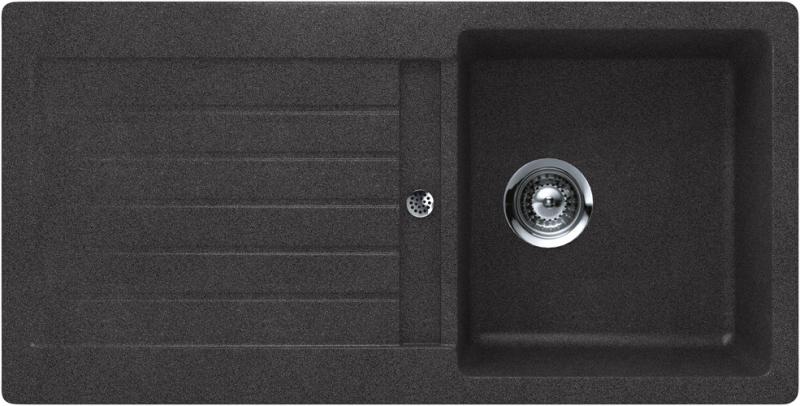 Schock Signus D-100S CRISTADUR Carbonium granitový dřez spodní montáž