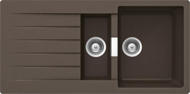 schock primus d 150 cristalite mocha granitov d ez horn mont schock moje spot ebi e. Black Bedroom Furniture Sets. Home Design Ideas