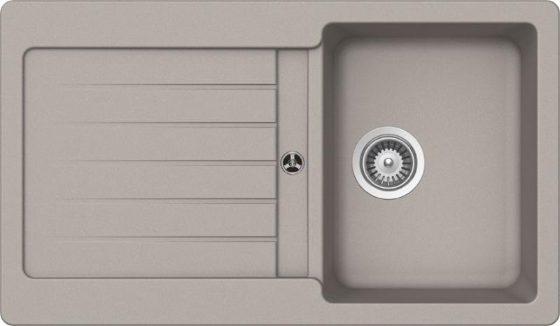 Schock Typos D-100 CRISTALITE+ Beton granitový dřez horní montáž