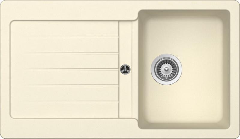 Schock Typos D-100 CRISTALITE+ Crema granitový dřez spodní montáž