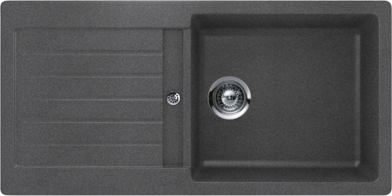 Schock Typos D-100L CRISTALITE+ Inox granitový dřez horní montáž