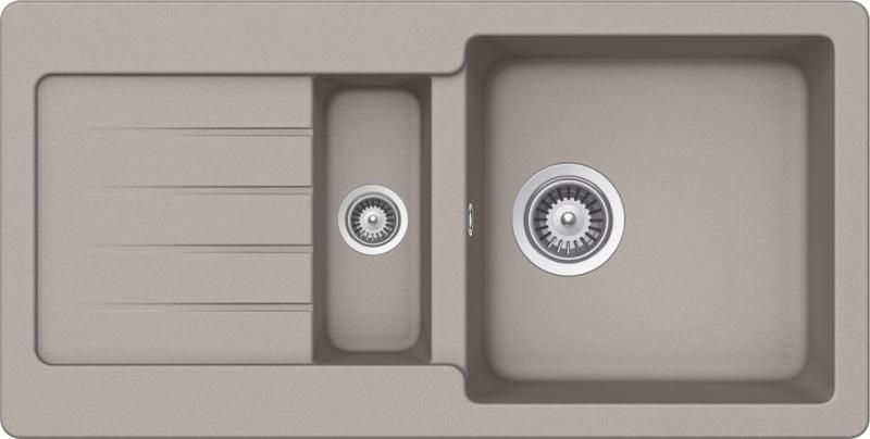 Schock Typos D-150S CRISTALITE+ Beton granitový dřez spodní montáž