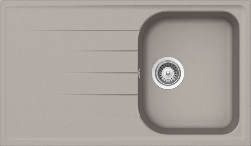 Schock Viola D-100 CRISTALITE+ Beton granitový dřez horní montáž