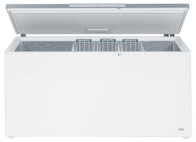 Liebherr GTL 6106 obsah 601 l, nerezové výklopné víko, zámek, 3 koše + Akce 5 let záruka zdarma