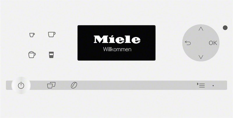 miele cm 6100 b l miele moje spot ebi e. Black Bedroom Furniture Sets. Home Design Ideas