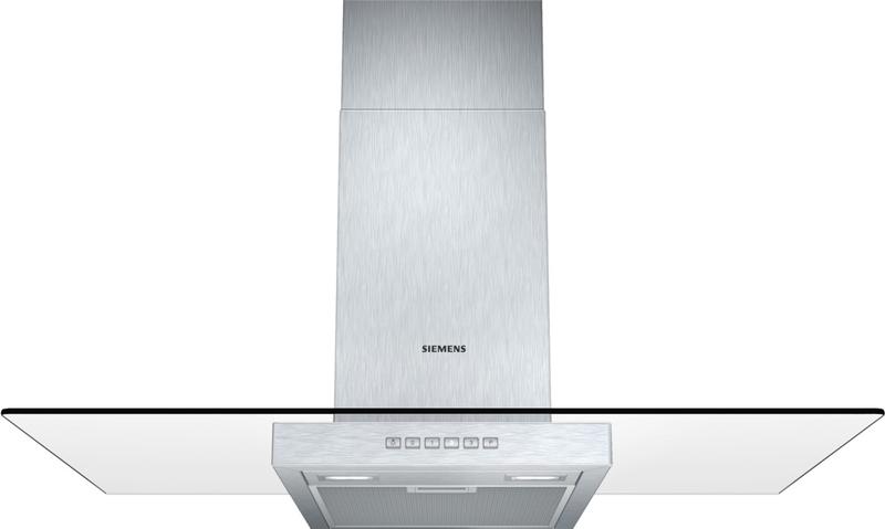 Siemens LC97GA532 nerez komínový odsavač par, 90 cm + dárek Bosch MFQ3020 ruční mixér zdarma