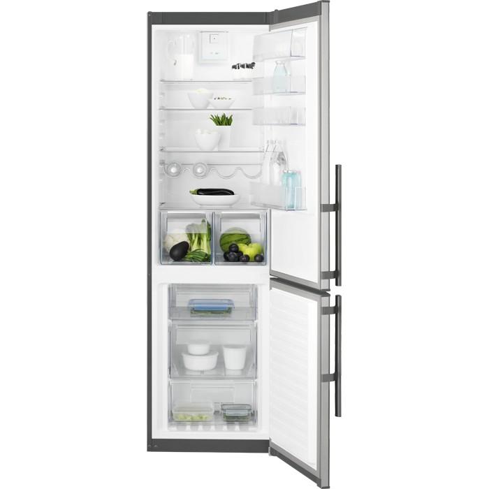 Electrolux EN3853MOX volně stojící kombinovaná chladnička