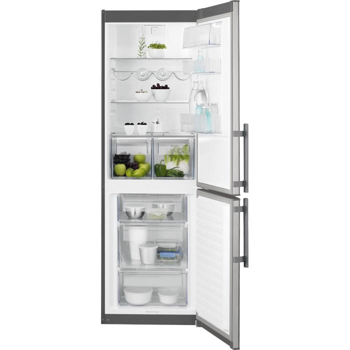 Electrolux EN3611OOX volně stojící kombinovaná chladnička