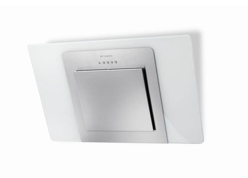 Faber CITY EG6 W/X A80 nerez / bílé sklo+nerez + Akce 5 let záruka zdarma