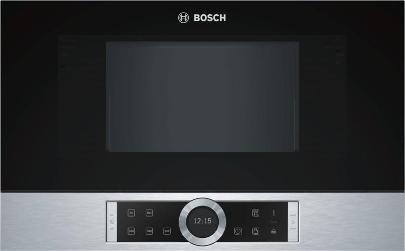 Bosch BFL634GS1 vestavná mikrovlnná trouba, levý závěs