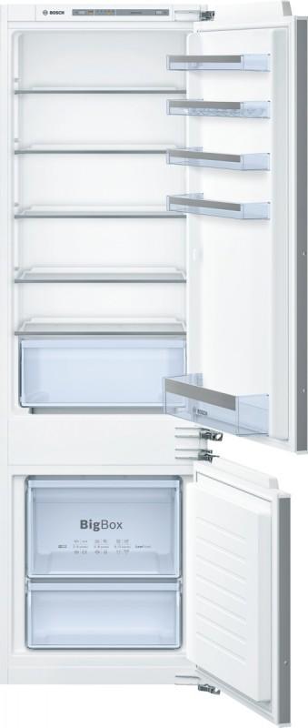 Bosch KIV87VF30 vestavná kombinace chladnička/mraznička ploché panty