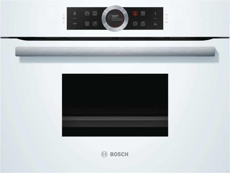 Bosch CDG634BW1 kompaktní parní trouba, bílá
