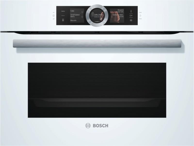 Bosch CSG656RW1 kompaktní parní trouba, bílá