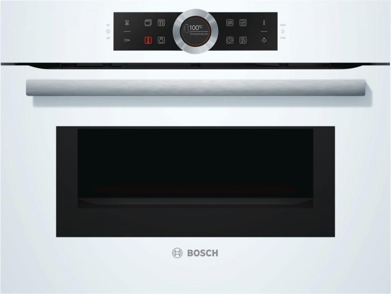 Bosch CMG633BW1 kompaktní trouba s mikrovlnami, bílá