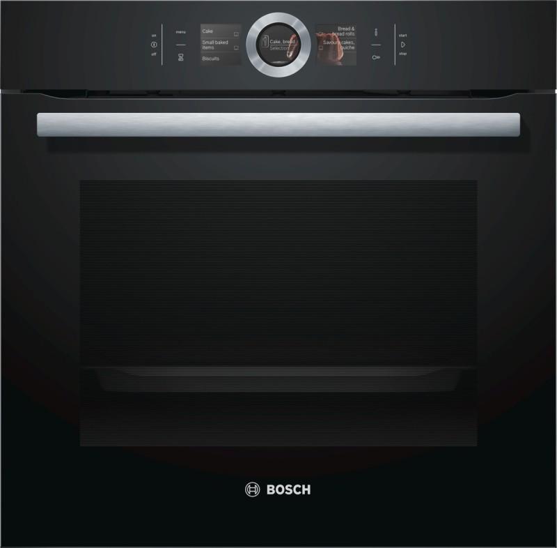 Bosch HBG6764B1 vestavná trouba s teplotní sondou, černá