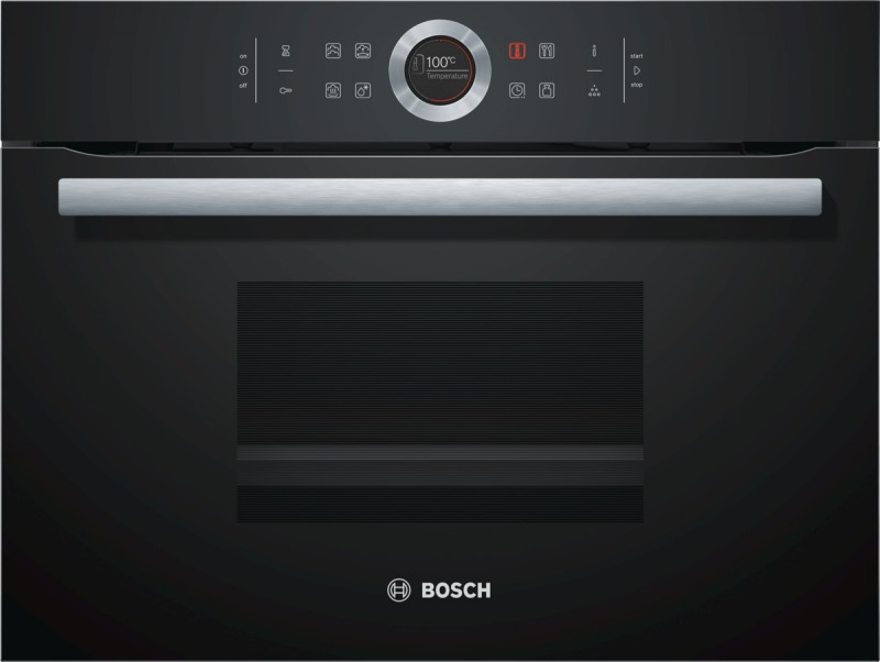 Bosch CDG634BB1 kompaktní parní trouba, černá