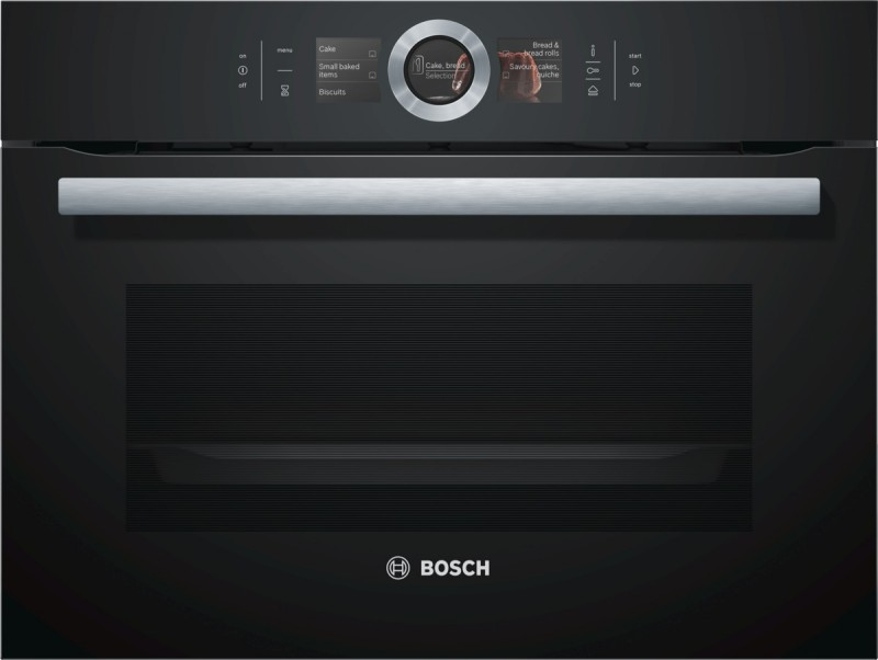 Bosch CSG656RB1 kompaktní parní trouba, černá
