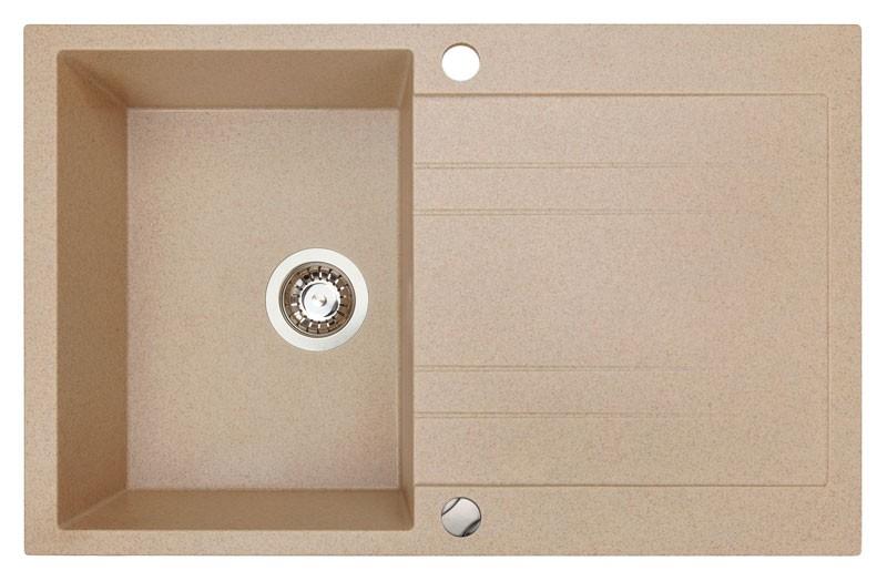 Sinks Sinks GRANDE 800 Beige - Záruka 5 let