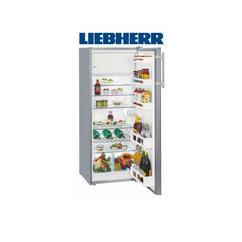 Liebherr Ksl 2814, chladnička s mrazákem, stříbrná + Akce 5 let záruka zdarma