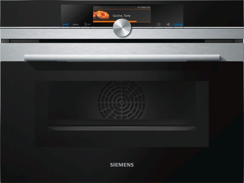 Siemens CM678G4S1 kompaktní trouba s mikrovlnami, nerez