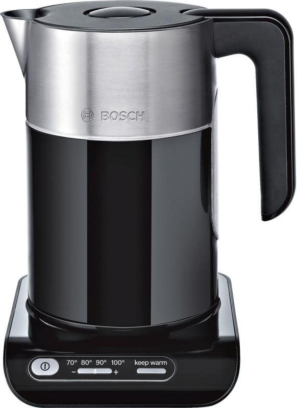 Bosch TWK8613P varná konvice, černá + nerez