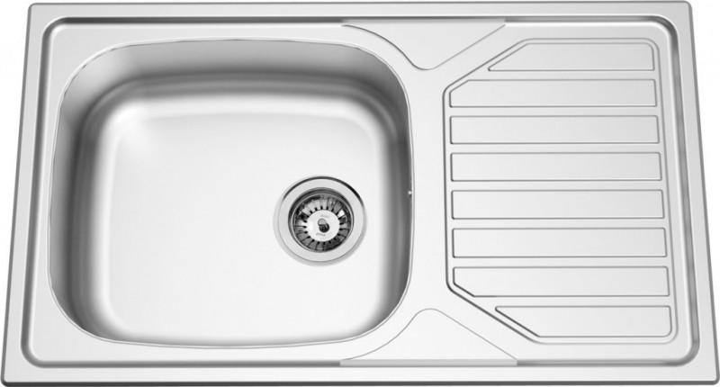 Set Sinks Sinks OKIO 860 XXL V 0,6mm matný + Sinks VENTO 4 S lesklá
