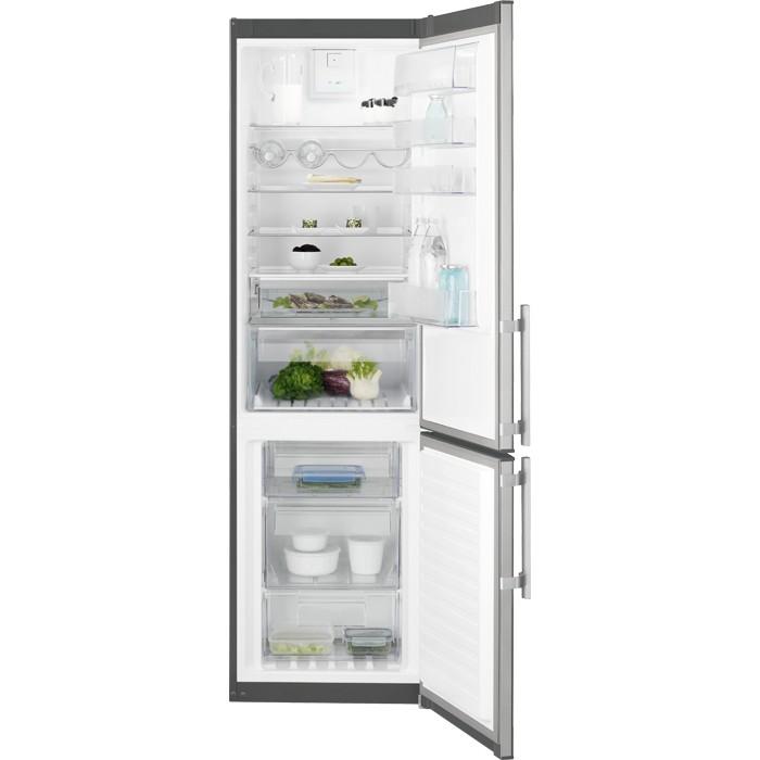 Electrolux EN3854POX volně stojící kombinovaná chladnička