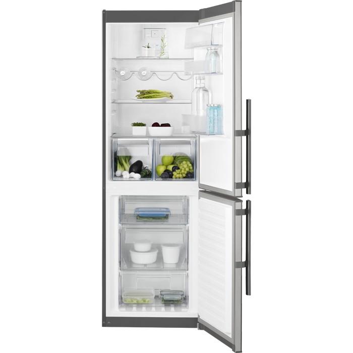 Electrolux EN3454MOX volně stojící kombinovaná chladnička