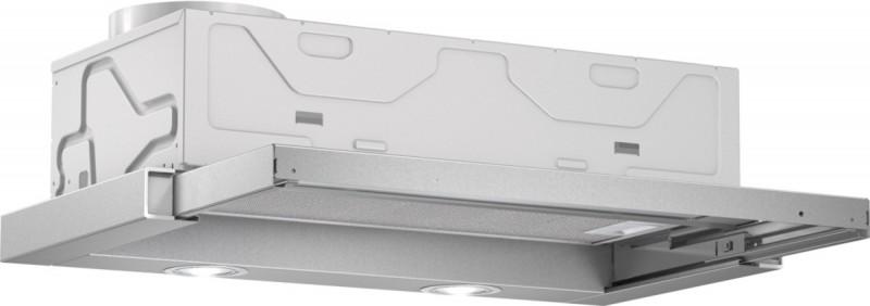 Bosch DFL063W50 plochý výsuvný odsavač par, stříbrná, 60 cm