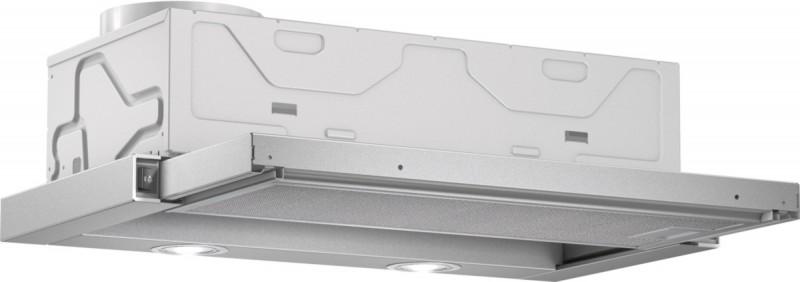 Bosch DFL064W50 plochý výsuvný odsavač par, stříbrná metalíza, 60 cm