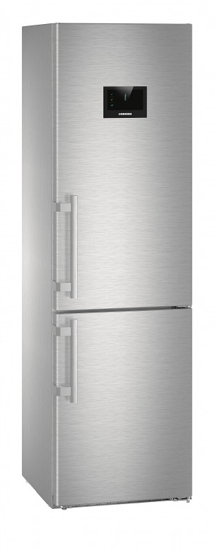 Liebherr CBNPes 4858 kombinovaná chladnička, BioFresh, NoFrost, nerez + Akce 5 let záruka zdarma