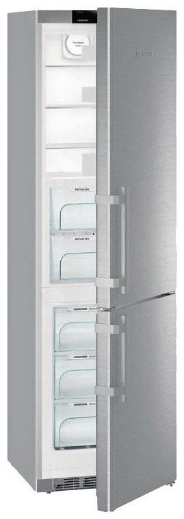 Liebherr CBNef 4815 kombinovaná chladnička, BioFresh, NoFrost, nerez + Akce 5 let záruka zdarma