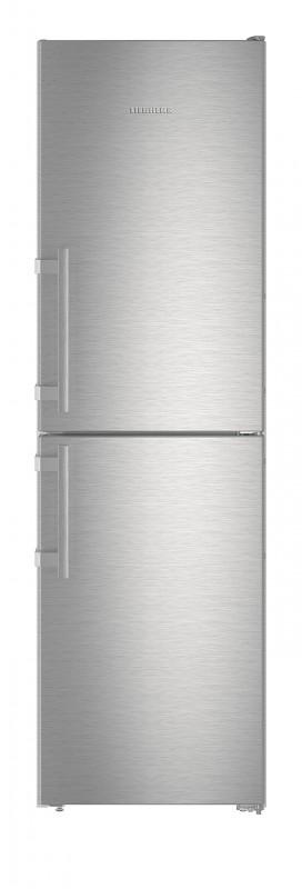Liebherr CNef 3915 kombinovaná chladnička, NoFrost, nerez + Akce 5 let záruka zdarma