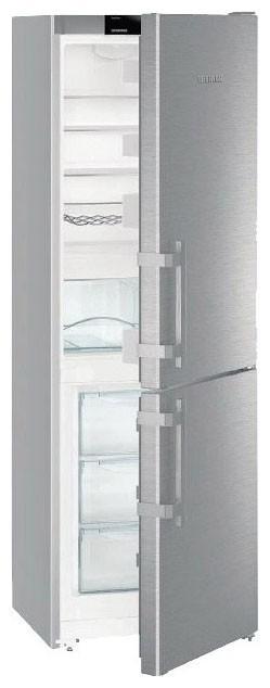 Liebherr CUef 3515 kombinovaná chladnička, nerez + Akce 5 let záruka zdarma