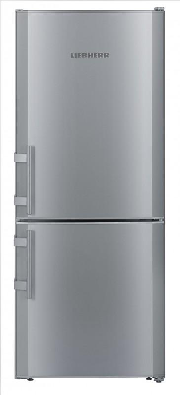 Liebherr CUsl2311 kombinovaná chladnička, stříbrná + Akce 5 let záruka zdarma