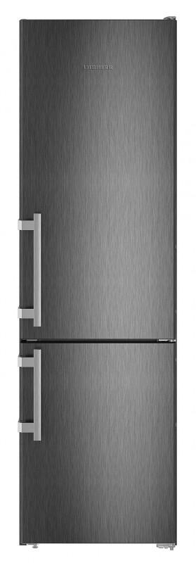 Liebherr CNbs 4015 kombinovaná chladnička, NoFrost, BlackSteel + Akce 5 let záruka zdarma