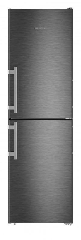 Liebherr CNbs 3915 kombinovaná chladnička, NoFrost, BlackSteel + Akce 5 let záruka zdarma