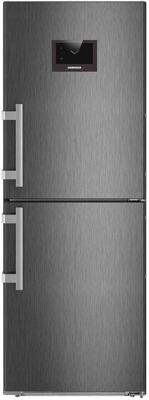 Liebherr CNPbs 3758 kombinovaná chladnička, NoFrost, BlackSteel + Akce 5 let záruka zdarma