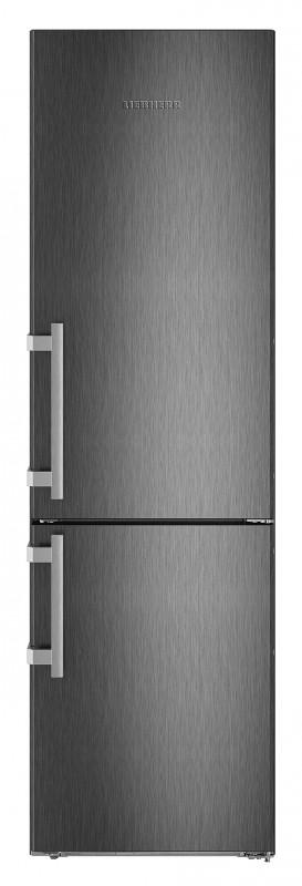Liebherr CBNbs 4815 kombinovaná chladnička, NoFrost, BioFresh, BlackSteel + Akce 5 let záruka zdarma