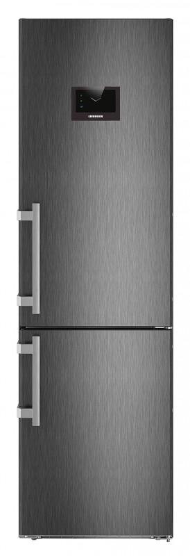 Liebherr CBNPbs 4858 kombinovaná chladnička, NoFrost, BioFresh, BlackSteel + Akce 5 let záruka zdarma
