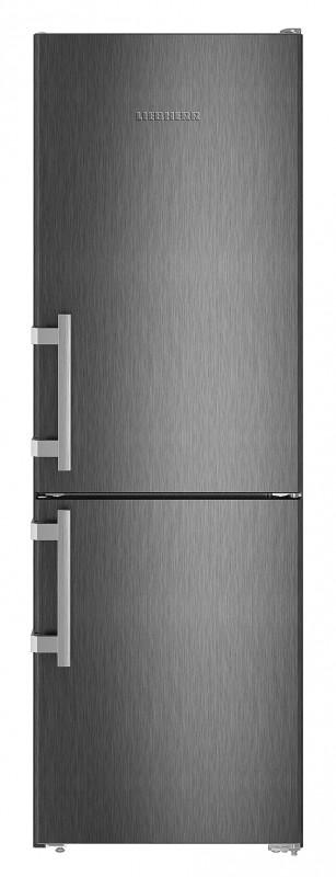 Liebherr Cbs 3425 kombinovaná chladnička, BlackSteel + Akce 5 let záruka zdarma
