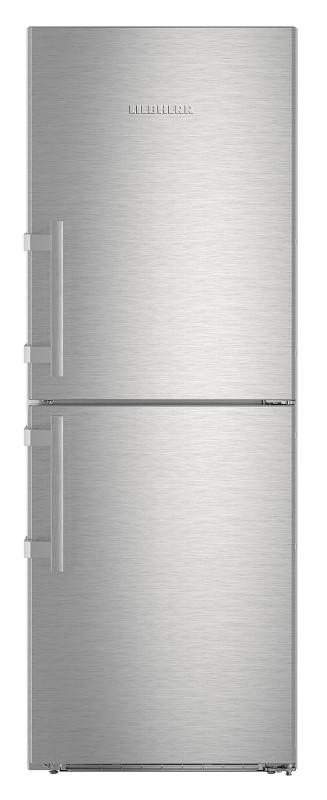 Liebherr CNef 3715 kombinovaná chladnička, NoFrost, nerez + Akce 5 let záruka zdarma
