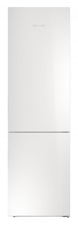 Liebherr CBNPgw 4855 kombinovaná chladnička, BioFresh, NoFrost, skleněné bílé dveře + Akce 5 let záruka zdarma