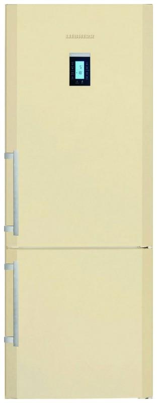 Liebherr CBNPbe 5156 kombinovaná chladnička, BioFresh, NoFrost, béžová + Akce 5 let záruka zdarma